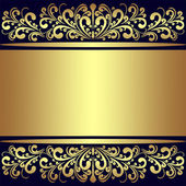 Luxury Background with golden royal Borders