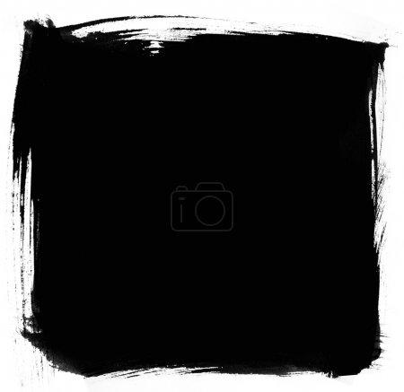 Foto de Textura de fondo de trazo de pincel - Imagen libre de derechos
