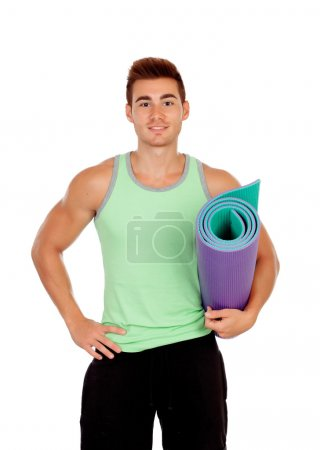 Personal trainer of fitness