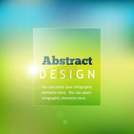 Illustration for Colorful abstract background - Royalty Free Image