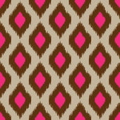 Modern ikat seamless pattern for web or home decor