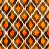 Ikat retro seamless pattern for web design or home decor