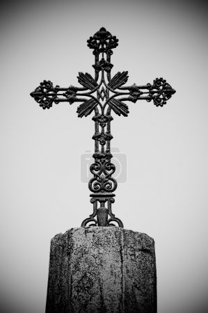 Photo for Metal cross - Royalty Free Image