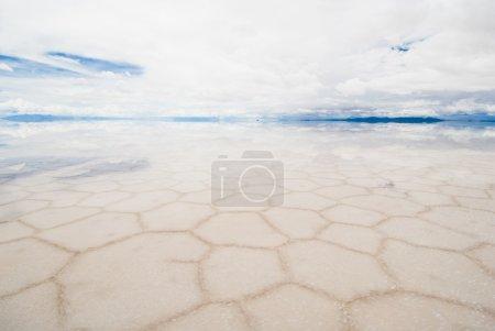 Photo pour Salar de uyuni, lac salé en la Bolivie - image libre de droit