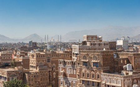 Photo for Panorama of Sanaa, Yemen - Royalty Free Image