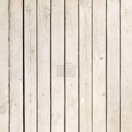 Illustration pour Panneau de bois blanc fond vectoriel - image libre de droit