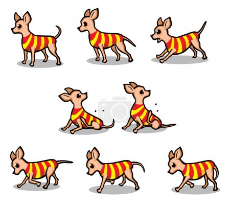 Dog Animation Poses