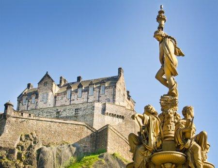 Photo for Edinburgh Castle, Scotland - Royalty Free Image