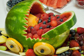Ovoce košík z melounu