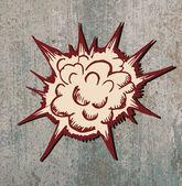 doodle Comic Explosion