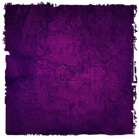 Abstract purple background or paper with bright center spotlight