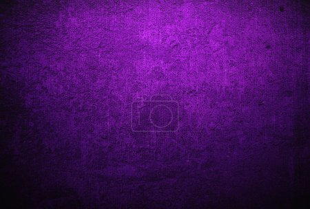 Photo for Abstract purple background or fabric with grunge background texture. For vintage layout design of light colorful graphic art - Royalty Free Image