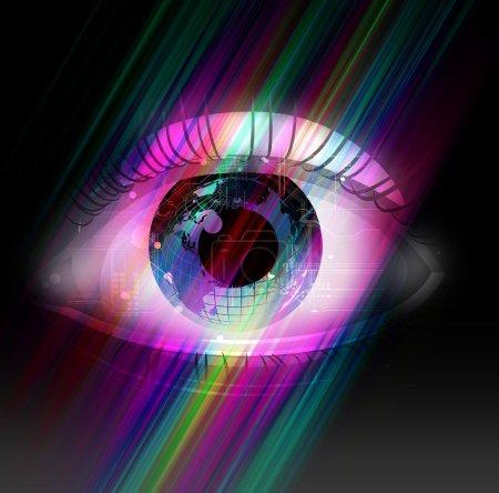 Photo pour Vision - image libre de droit