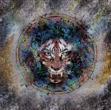 Photo for Tiger poster - Royalty Free Image