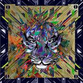 Tiger dream illustration