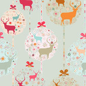 Colorful Christmas seamless pattern EPS 8