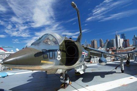 AV8C Harrier at Interpid Museum