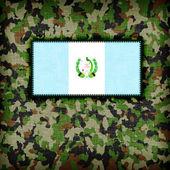 Amy camouflage uniform, Guatamala