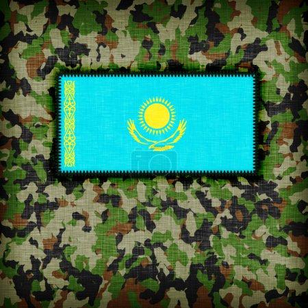 Amy camouflage uniform, Kazakhstan