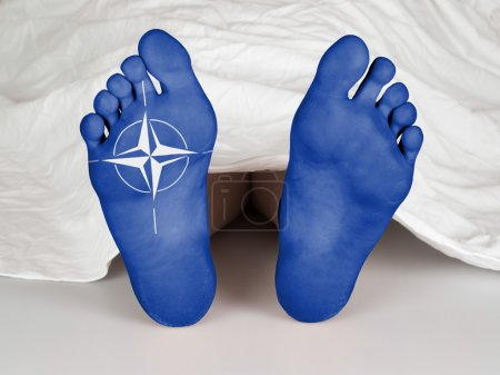 Body under sheet