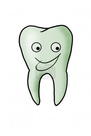 Nice healthy tooth