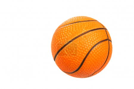 Orange rubber ball