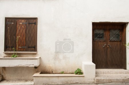 Shutter and door of a Cyprus house