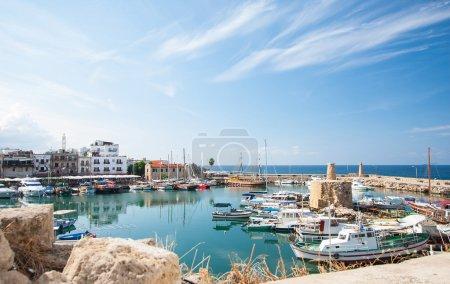 Kyrenia harbour, Cyprus beautiful sea bay