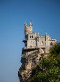 le nid d'hirondelle château bien connu près de Yalta