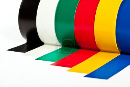 Rolls of insulation adhesive tape