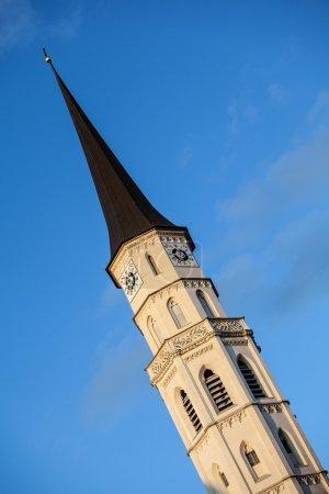 Spire of St. Michael's Church (Michaelerkirche)