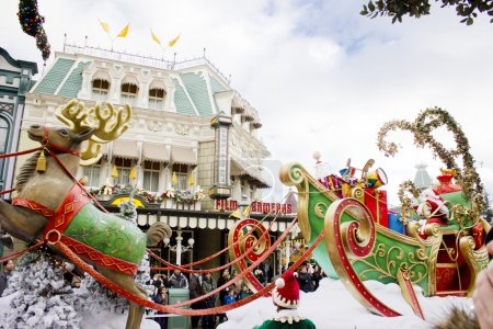Photo for Disney Christmas Parade. Paris - Royalty Free Image
