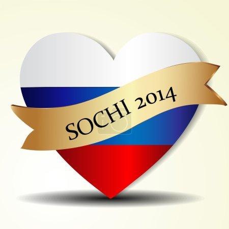 Heart of Sochi, Russia