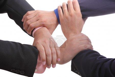 Photo pour Tous pour un, nous travaillons ensemble oute personne peut faire. - image libre de droit