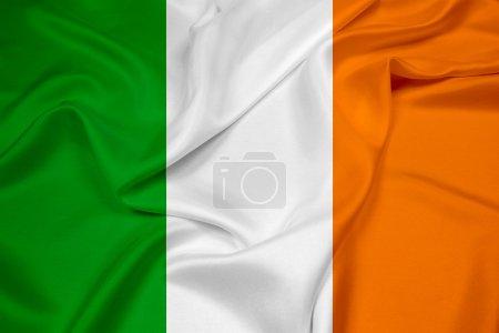 Photo pour Drapeau de l'Irlande - image libre de droit