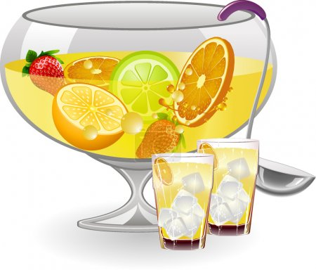 Fruit Punch Bowl