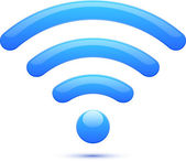 Wifi icon abstract