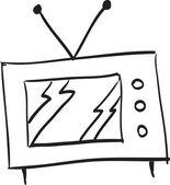 Hand drawn TV