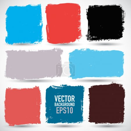 Illustration for Grunge colorful backgrounds - Royalty Free Image