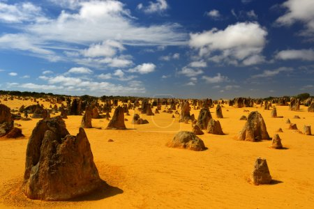 The Pinnacles in the Nambung National Park, Wester...