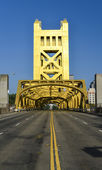 Tower Bridge, Sacramento, Kalifornia