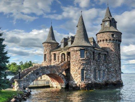 Power House of Boldt Castle, Thousand Islands, New York