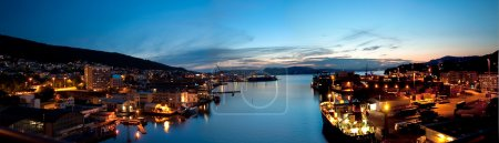 Panorama of Bergen, Norway