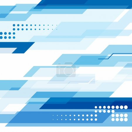Illustration for Blue business background for Corporate Identity EPS10 - Royalty Free Image