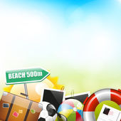 Summer background with place for your text
