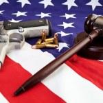 Постер, плакат: American Gun Laws