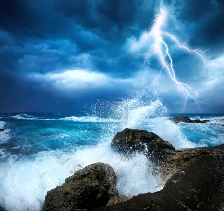 Photo for Ocean Storm - Royalty Free Image
