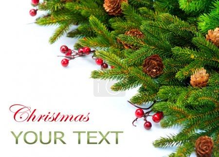 Christmas Tree decoration Border Design