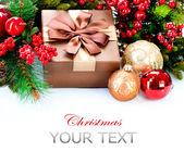 Vánoční dárky a dekorace