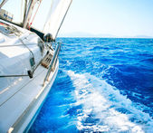 Yacht. Segeln. Yachting. Tourismus. Luxus-lifestyle